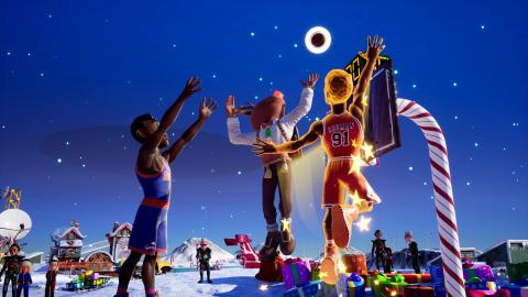 NBA 2K Playgrounds 2 : 35 légendes supplémentaires arrivent sur le terrain pour Noël
