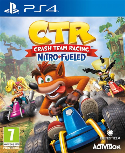 Crash Team Racing Nitro-Fueled sur PS4