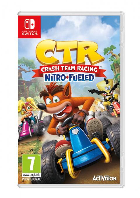 Crash Team Racing Nitro-Fueled sur Switch
