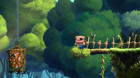 Monster Boy et le Royaume Maudit : Les premiers pas dans la peau du cochon