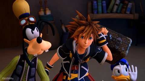 Kingdom Hearts III : une quarantaine de screenshots présentent la Reine des Neiges et bien d'autres