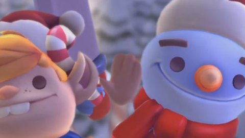 Overcooked 2 : Kevin distribue des marshmallow par milliers