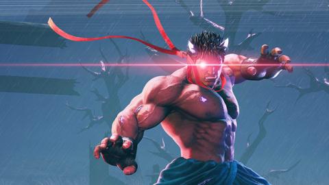 Street Fighter V : Ryu plus énervé que jamais !