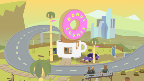 Donut County sur ONE