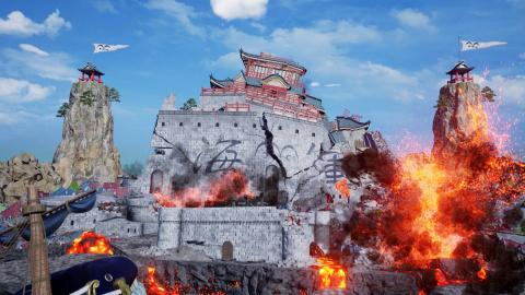 Jump Force : Plus de screenshots pour l'arène Marineford