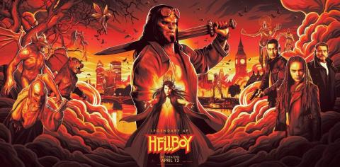 Hellboy : Le 1er trailer entre castagne et humour
