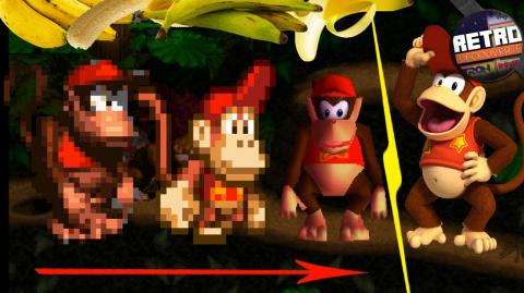 Rétro Découverte : L'histoire de Diddy Kong