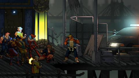 Streets of Rage 4 : l'ancien roi du Beat'em all prêt à reconquérir son territoire - gamescom 2019