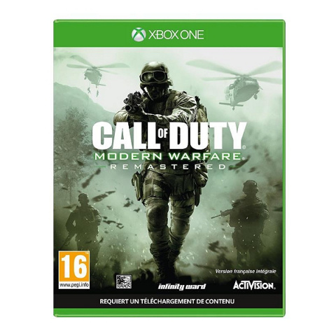 Call of Duty : Modern Warfare Remastered sur ONE