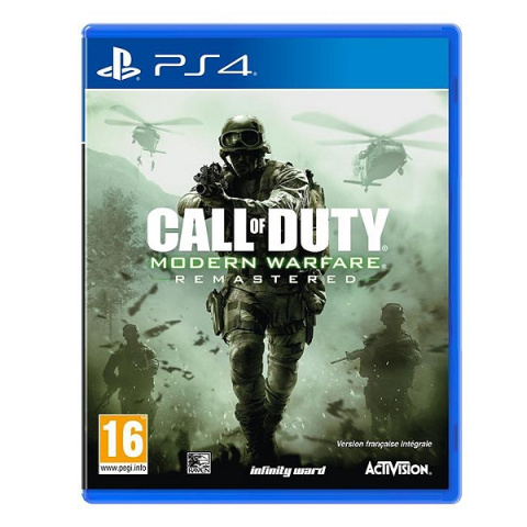 Call of Duty : Modern Warfare Remastered sur PS4