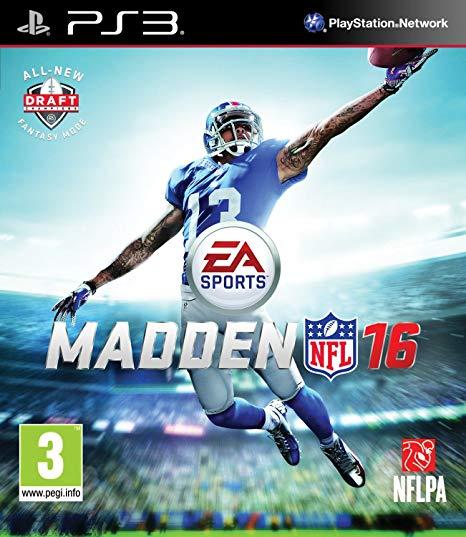 Madden NFL 16 sur PS3