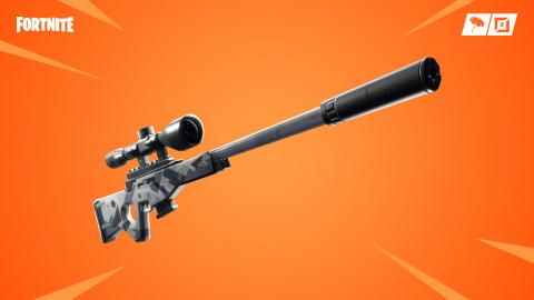 Fortnite : le fusil de précision à silencieux fait son entrée
