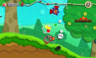 Kirby : Au Fil de la Grande Aventure - le portage 3DS arrive le 8 mars