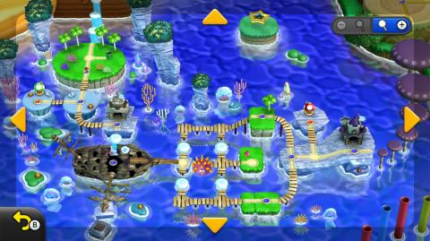 Monde 3 - Mer Mentalo - Astuces et guides New Super Mario