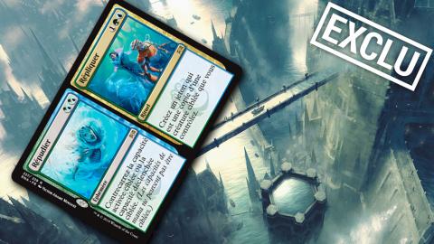 Exclu : Nouvelle carte Magic The Gathering : Répudier // Répliquer
