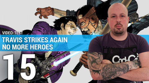 Travis Strikes Again No More Heroes : Exploser la pop-culture en 3 minutes