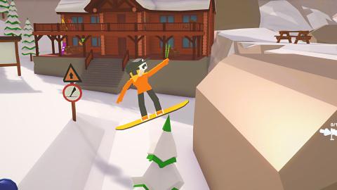 When Ski Lifts Go Wrong : un Trials en montagne