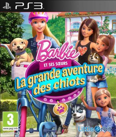 Barbie et ses sœurs : La grande aventure des chiots sur PS3