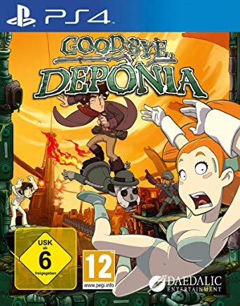 Goodbye Deponia sur PS4