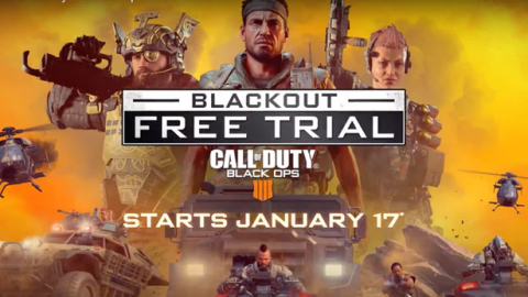 Call of Duty Black Ops 4 : Jouez gratuitement au mode Blackout sur PS4 !