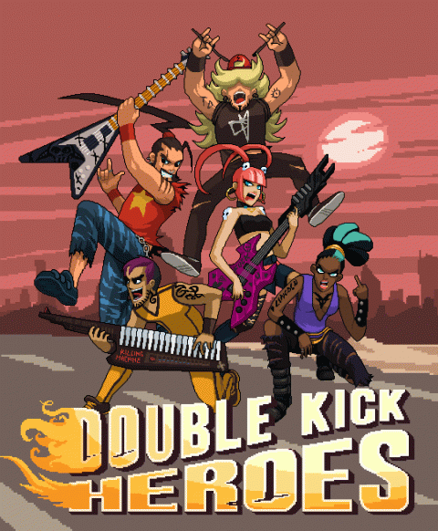 Double Kick Heroes sur Switch