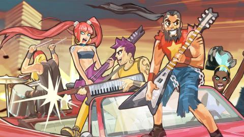 Double Kick Heroes : des kills et de la musique