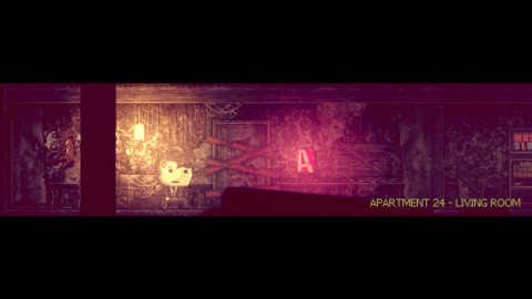 Distraint : le jeu d'horreur psychologique en 2D est offert sur GOG