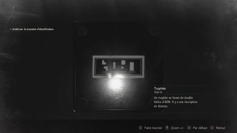 Énigme des codes de la salle de contrôle de la serre (Leon & Claire - A)