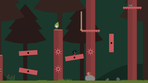 Premier robot, la forêt