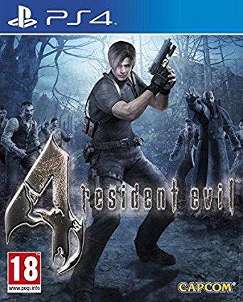 Resident Evil 4 HD sur PS4