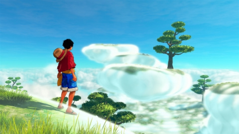 One Piece : World Seeker - L'Île Céleste  mise en avant dans de nouvelles captures