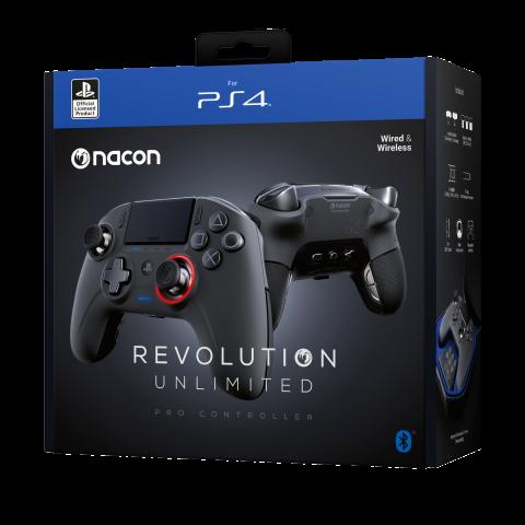 Nacon présente sa manette Revolution Unlimited Pro sans fil pour PS4