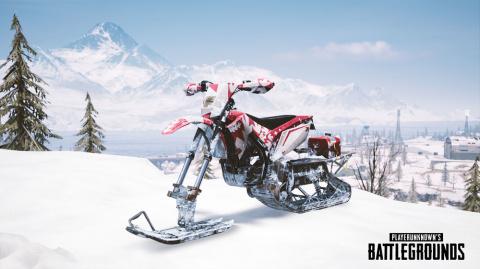 PUBG : snowbike, viseur incliné... la mise à jour #25 arrive jeudi sur les serveurs live PC