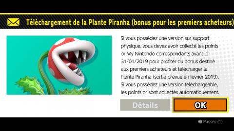 Super Smash Bros. Ultimate : comment débloquer la Plante Piranha gratuitement avant jeudi ?