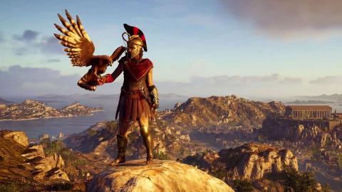 Assassin's Creed Odyssey : la création d'Athènes