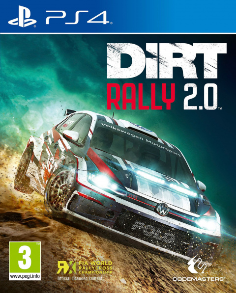 DiRT Rally 2.0 sur PS4