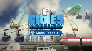 Cities Skylines : Mass Transit sur PS4