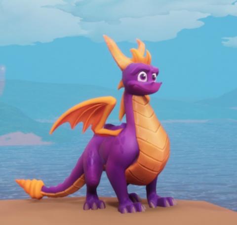 Cheat code Spyro à petite tête