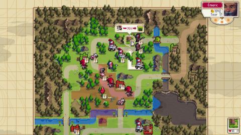 Wargroove : le tactical-RPG sortira en physique à l'automne 2019