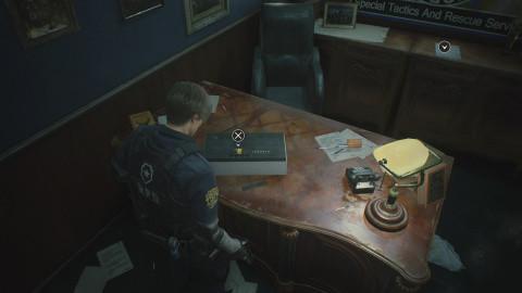 Commissariat de Racoon City (Léon & Claire - Bis)
