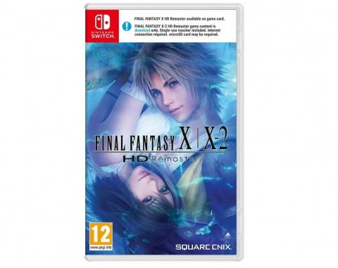 [MàJ] Final Fantasy X / X-2 HD sur Switch : deux cartouches dans la version physique asiatique