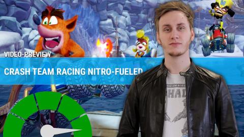 Crash Team Racing Nitro-Fueled : nos premières impressions en quelques minutes
