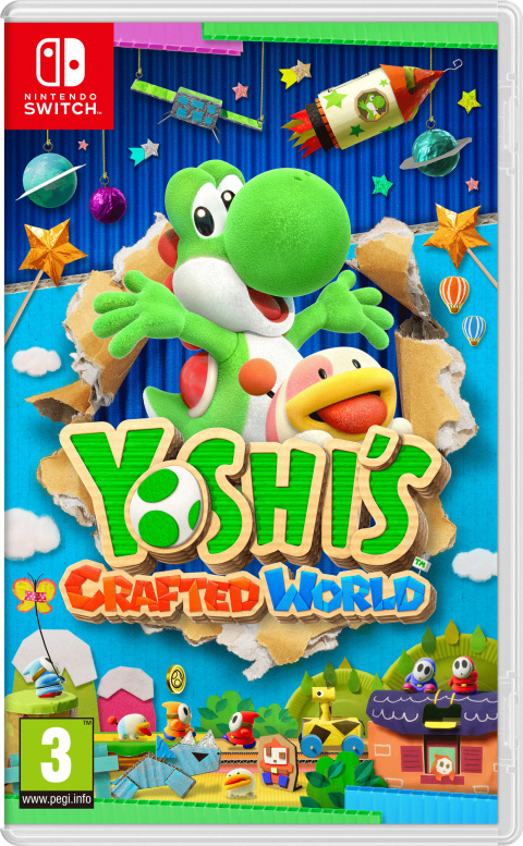 Yoshi's Crafted World sur Switch