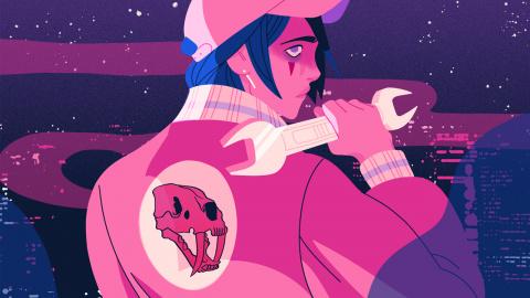 Rencontre avec Rose Tiger, l'artiste qui a créé un jeu donnant accès aux morceaux de son EP