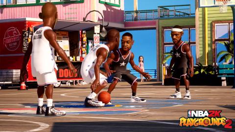 NBA 2K Playgrounds 2 est désormais jouable en cross-platform PC, Switch et Xbox One
