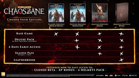 Warhammer Chaosbane : la date de sortie officialisée, les bonus de précommmande aussi