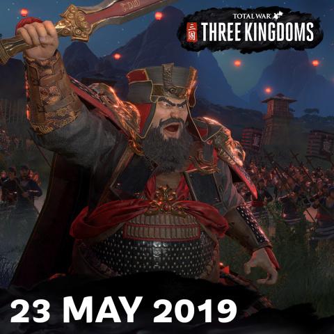 Total War : Three Kingdoms voit sa sortie repoussée au 23 mai