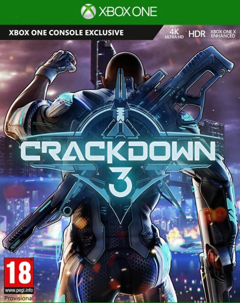 Crackdown 3 sur ONE