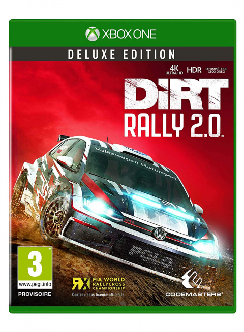 DiRT Rally 2.0 sur ONE
