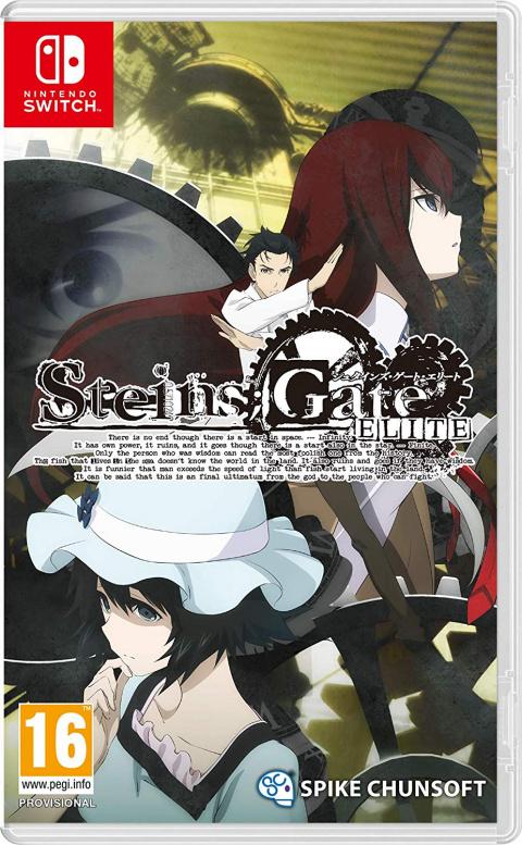 Steins;Gate Elite sur Switch